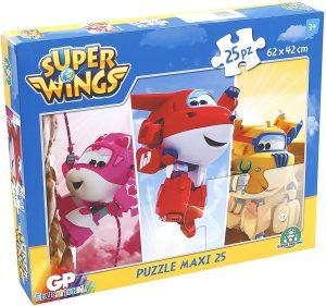 Los mejores puzzles de Super Wings - Puzzle de Super Wings de 25 piezas de Trefl