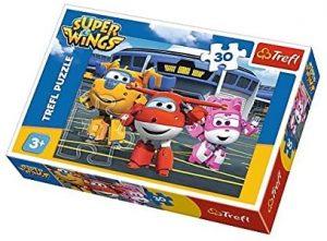 Los mejores puzzles de Super Wings - Puzzle de Super Wings de 30 piezas de Trefl