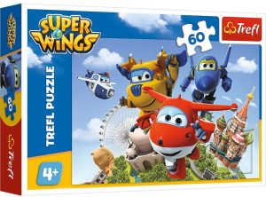 Los mejores puzzles de Super Wings - Puzzle de Super Wings de 60 piezas de Trefl