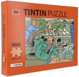 Los mejores puzzles de Tintín - Puzzle de 1000 piezas de cohete lunar de Tintín de Moulisart