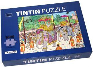 Los mejores puzzles de Tintín - Puzzle de 1000 piezas de elefante de Tintín de Moulisart