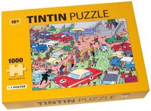 Los mejores puzzles de Tintín - Puzzle de 1000 piezas de rally de Tintín de Moulisart
