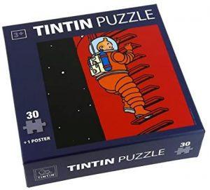 Los mejores puzzles de Tintín - Puzzle de 30 piezas de la escalera del cohete de Tintín de Moulisart