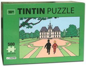 Los mejores puzzles de Tintín - Puzzle de 500 piezas de Castillo de Tintín de Moulisart