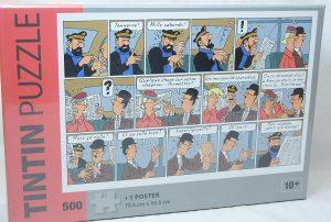 Los mejores puzzles de Tintín - Puzzle de 500 piezas de comic de Tintín de Moulisart