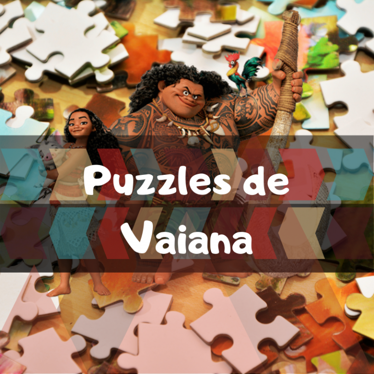 Los mejores puzzles de Vaiana