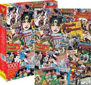 Los mejores puzzles de Wonder Woman - Puzzle de Cómics de Wonder Woman de 1000 piezas de Aquarius