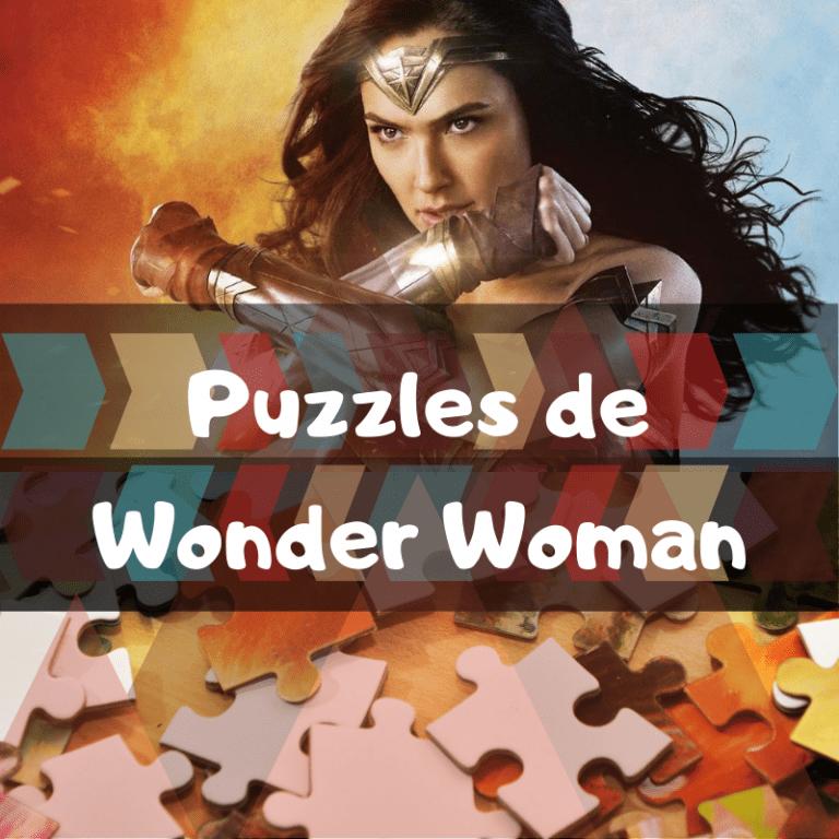 Los mejores puzzles de Wonder Woman