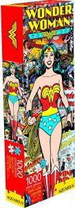 Los mejores puzzles de Wonder Woman - Puzzle de Wonder Woman clásico de 1000 piezas de Aquarius