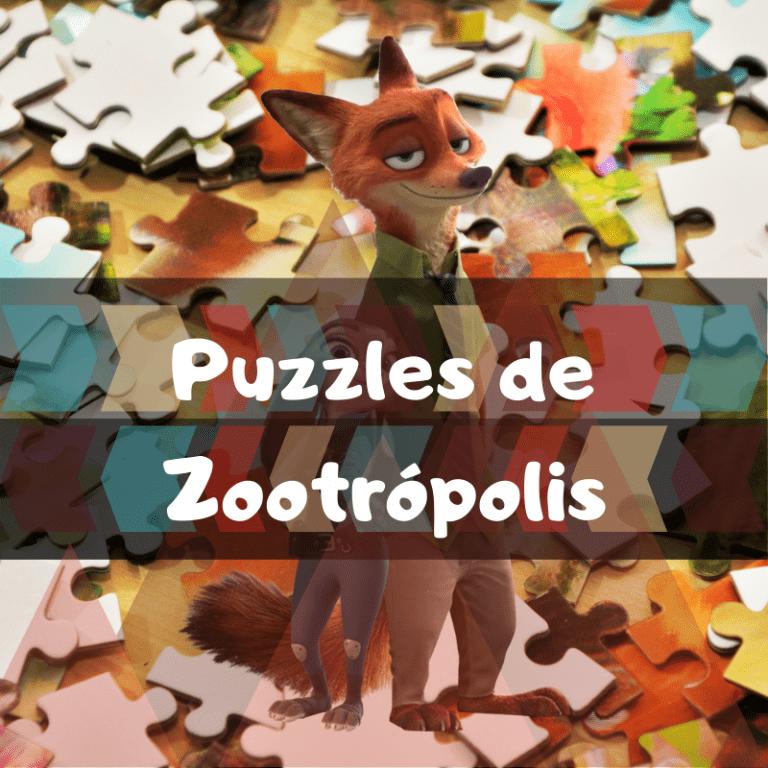 Los mejores puzzles de Zootrópolis
