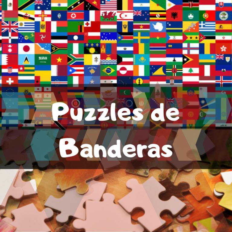 Los mejores puzzles de banderas del mundo