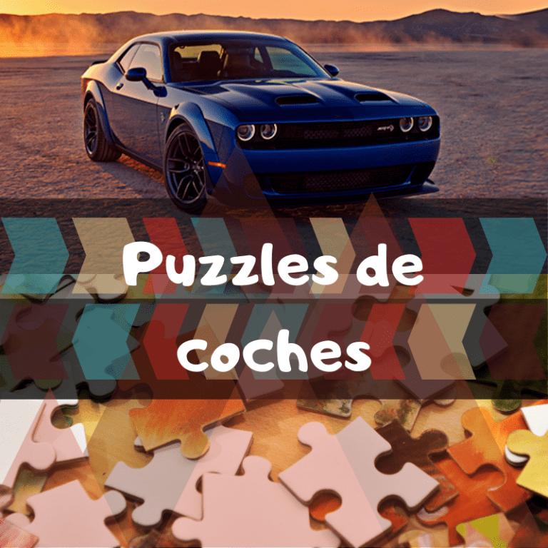 Los mejores puzzles de coches