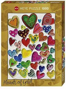 Los mejores puzzles de corazón - Puzzle de corazones de 1000 piezas de Heye