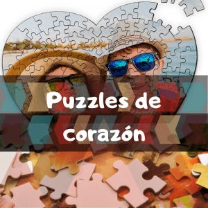 Los mejores puzzles de corazón - Puzzles de corazones - Puzzle con forma de corazón