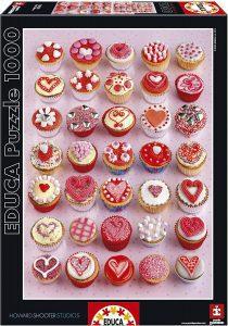 Los mejores puzzles de cupcakes - Puzzle de Cupcakes de Educa de 1000 piezas