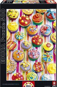 Los mejores puzzles de cupcakes - Puzzle de Cupcakes de Educa de 500 piezas