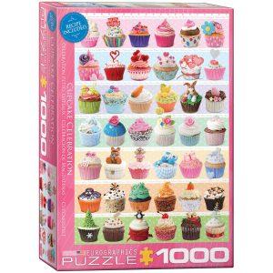 Los mejores puzzles de cupcakes - Puzzle de Cupcakes de Eurographics de 1000 piezas
