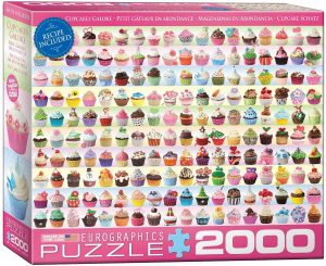 Los mejores puzzles de cupcakes - Puzzle de Cupcakes de Eurographics de 2000 piezas