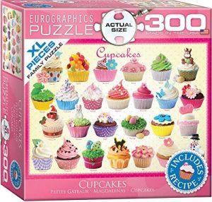 Los mejores puzzles de cupcakes - Puzzle de Cupcakes de Eurographics de 300 piezas