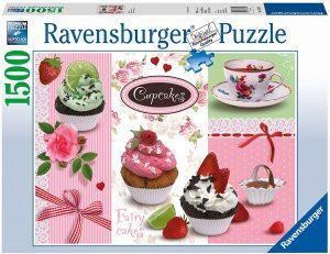 Los mejores puzzles de cupcakes - Puzzle de Cupcakes de Ravensburger de 1500 piezas