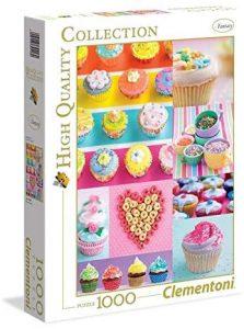 Los mejores puzzles de cupcakes - Puzzle de Donuts y Cupcakes de Clementoni de 1000 piezas