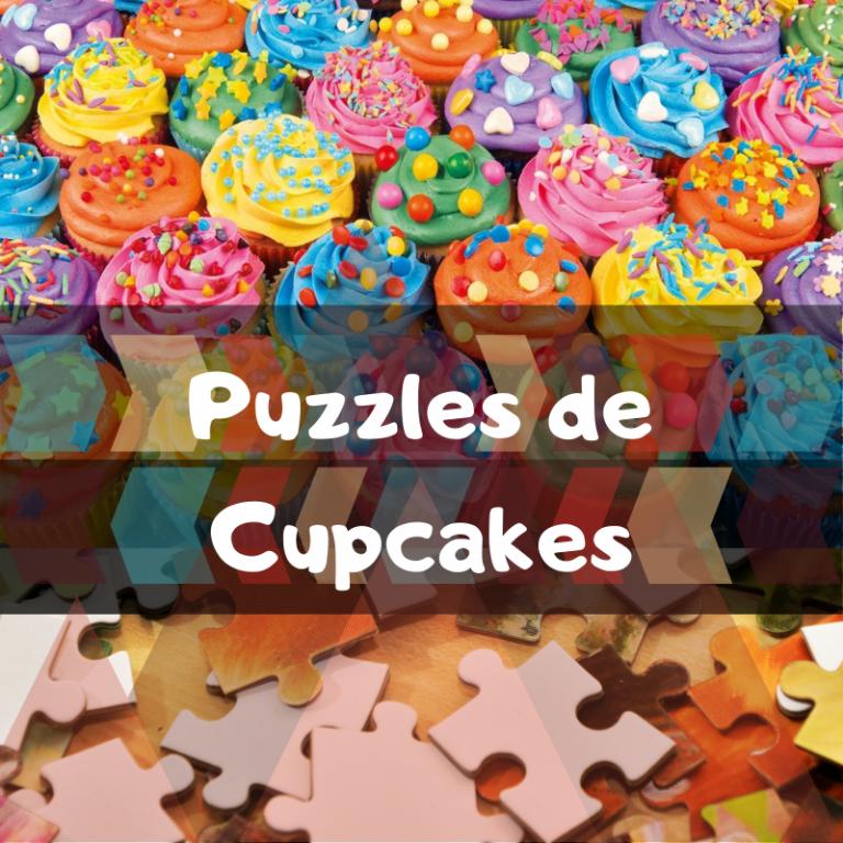 Los mejores puzzles de Cupcakes