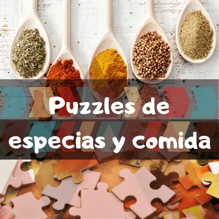 Los mejores puzzles de especias y comida