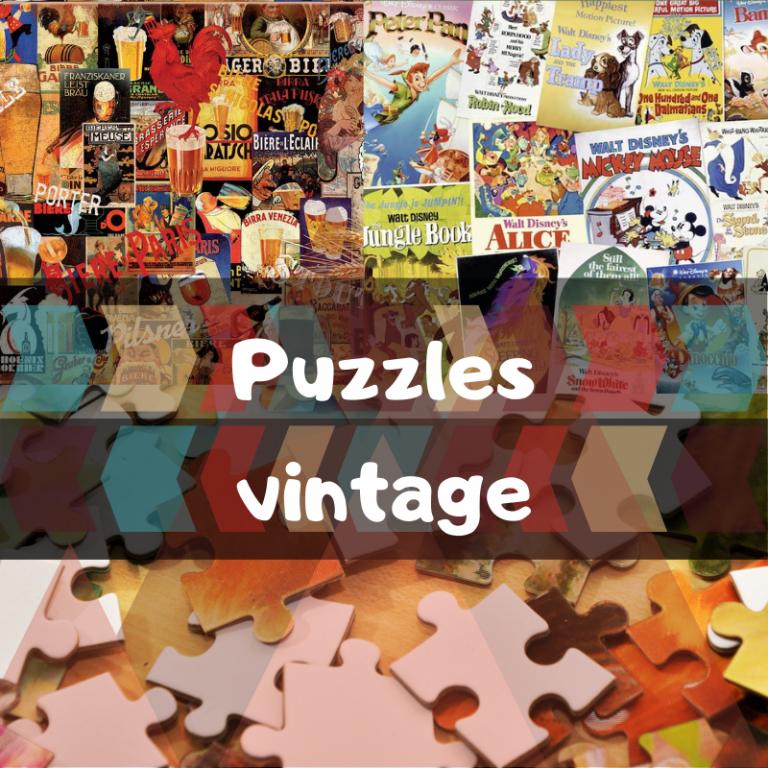 Lee más sobre el artículo Los mejores puzzles Vintage