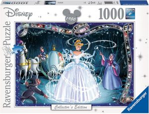Los mejores puzzles de hadas - Puzzle de hada madrina y la Cenicienta de 1000 piezas de Ravensburger