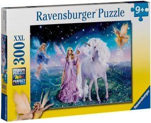Los mejores puzzles de hadas - Puzzle de hada y unicornio de 300 piezas de Ravensburger