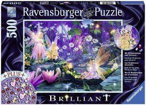 Los mejores puzzles de hadas - Puzzle de hadas brillantes de 500 piezas de Ravensburger