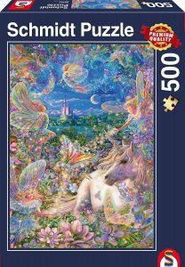 Los mejores puzzles de hadas - Puzzle de hadas y unicornio de 500 piezas de Ravensburger
