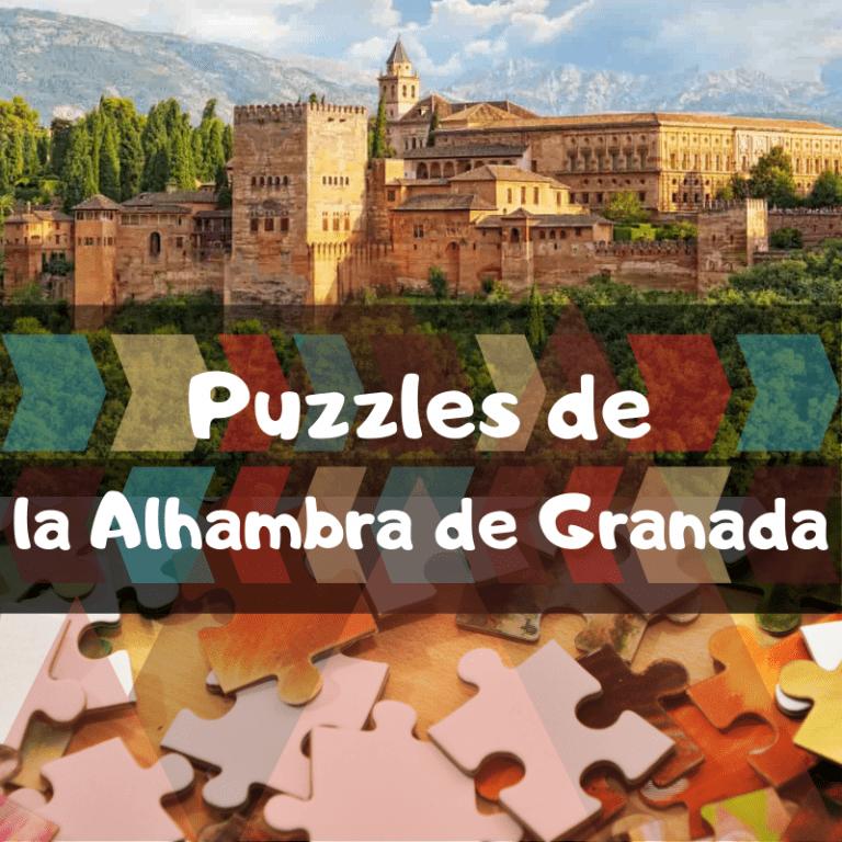 Los mejores puzzles de la Alhambra de Granada