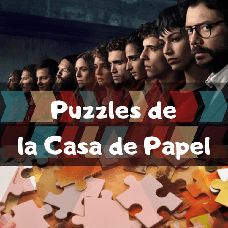Los mejores puzzles de la Casa de Papel