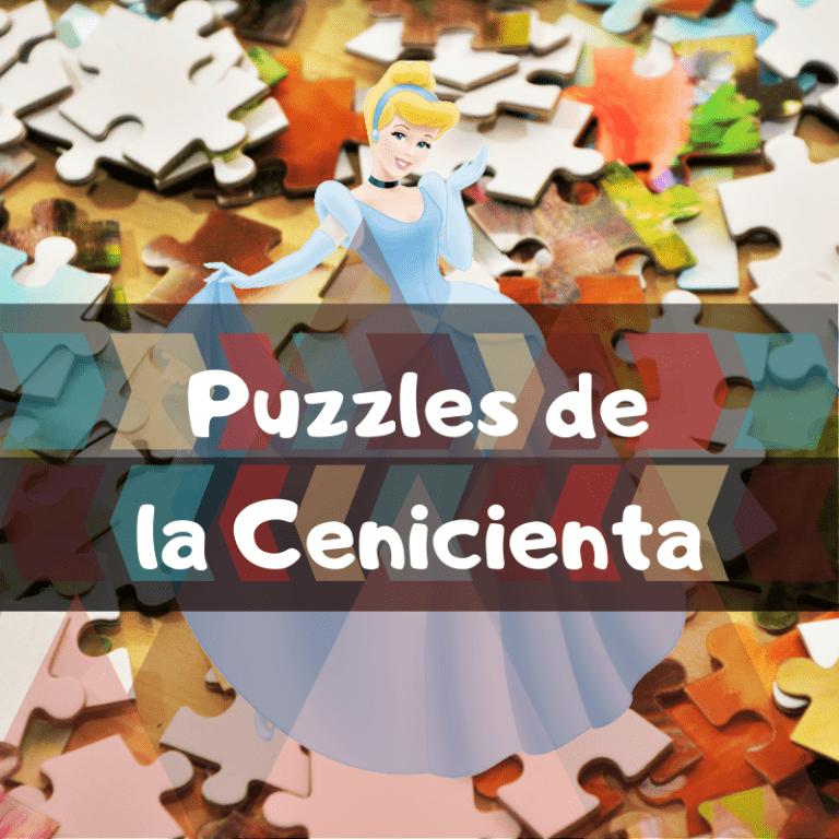 Los mejores puzzles de la Cenicienta