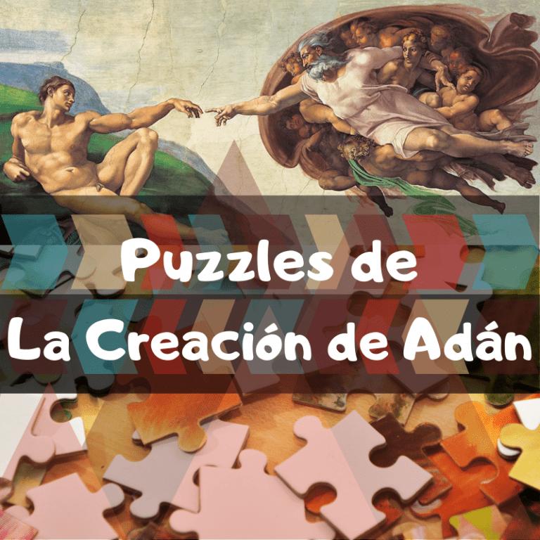 Los mejores puzzles de la creación de Adán de Michelangelo