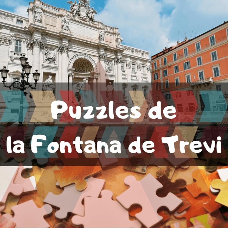 Los mejores puzzles de la Fontana de Trevi de Roma