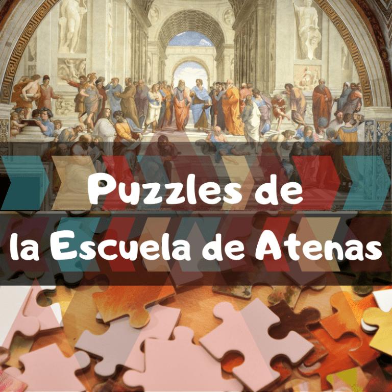 Los mejores puzzles de la escuela de Atenas de Rafael