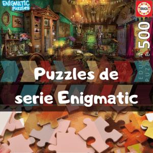 Los mejores puzzles de la serie Enigmatic - Puzzles de Educa de la serie Enigmatic - Puzzle Enigmatic