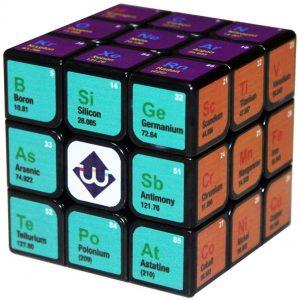 Los mejores puzzles de la tabla periódica - Cubo de Rubik de la tabla periódica de Química