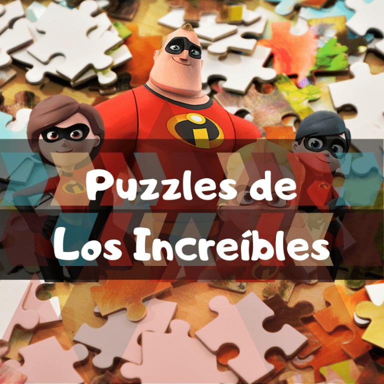 Los mejores puzzles de los Increíbles