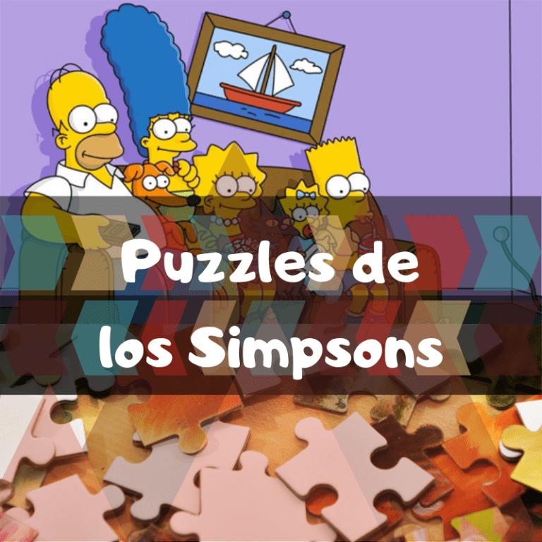Lee más sobre el artículo Los mejores puzzles de los Simpsons