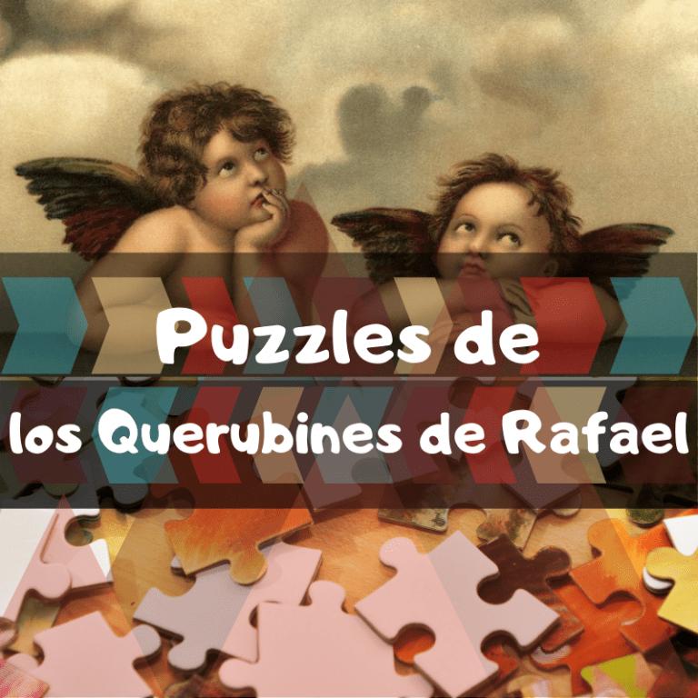 Los mejores puzzles de los Querubines de la Madonna Sixtina de Rafael