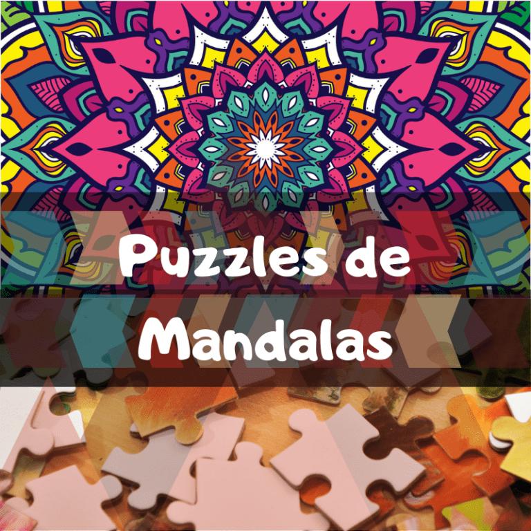 Los mejores puzzles de mandalas