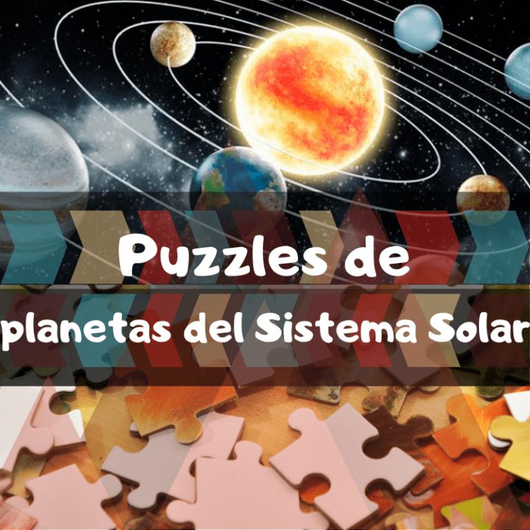 Los mejores puzzles de planetas del Sistema Solar