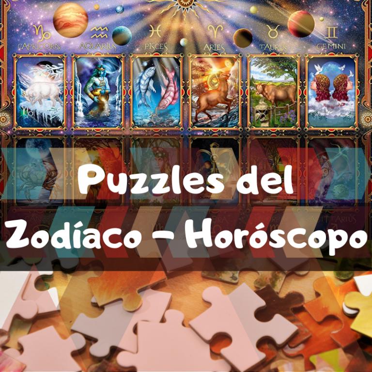 Los mejores puzzles de signos del Zodíaco del Horóscopo