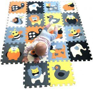 Los mejores puzzles de suelo para bebés - Puzzle de animales de alfombra PREMIUM - Puzzles infantiles de alfombra de suelo para bebés