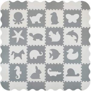 Los mejores puzzles de suelo para bebés - Puzzle de animales de alfombra de VeloVendo - Puzzles infantiles de alfombra de suelo para bebés