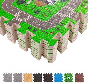 Los mejores puzzles de suelo para bebés - Puzzle de calles de alfombra grande- Puzzles infantiles de alfombra de suelo para bebés