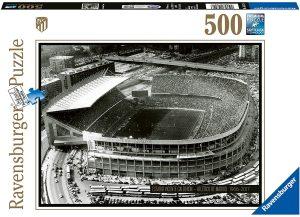 Los mejores puzzles del Atlético de Madrid - Puzzle del Vicente Calderón del Atlético de Madrid de 500 piezas de Ravensburger